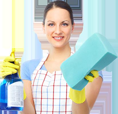 Femme de nettoyage pour aider votre domicile