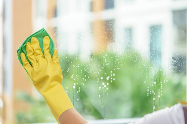 Lavage de fenêtres d'un appartement a Paris